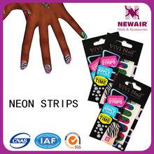 ViVinail brand top hot neon trend nail polish strips