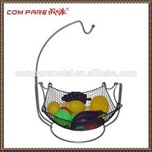 2015 New Design mesh Metal Wire Fruit Basket