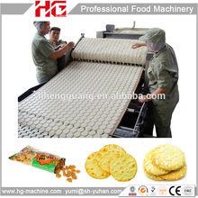 Fully automatic multifunctional rice cracker machine