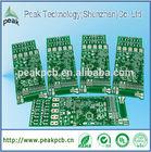 China professional FR4 based rigid 2 layer pcb manufacturer