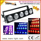 5pcs 30W COB RGB 3in led matrix bar/ dmx led dj light bar