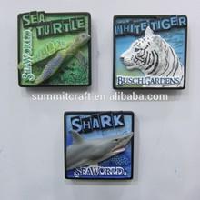 Customized fridge magnet promotional resin 3d souvnir fridge magnet