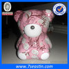 funny christmas bear toy gift tins for decoration made in Dongguan