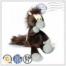 Plush horse/ custom stuffed animal toy/ horse lamaze plush toy