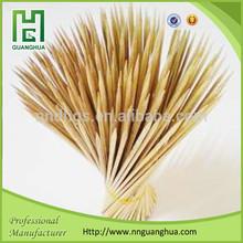 Wholdsale bamboo skewer, natural round bamboo stick, bamboo stick