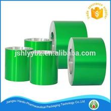 PTP Hard Blister Aluminium Foil for heat sealing with PVC