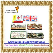 CGFM-E-018 Epoxy Queen in London Tourist Special Resin Souvenir Refrigerator Magnet