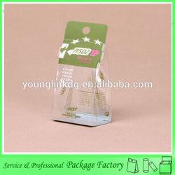 Transparent small cartoon cookies box packaging design