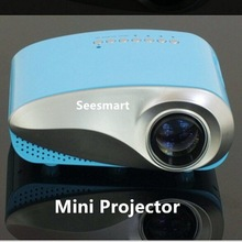 2014 New Arrival! Mini AV LED LCD Digital Video Game Projector Native 480*320 Multimedia player Inputs AV VGA USB SD HDMI Ports