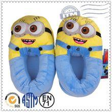 Cina ciabatte peluche animale top 10 promozione delle vendite, Cattivissimo Me minion pantofole peluche e scarpe