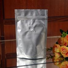 2014 hot sale plastic resealable aluminum foil coffee bag with valve
