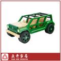 Hechos a mano de bambú jeep coche