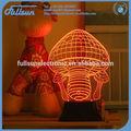 3D colorida Decoración, Luz de Noche FS-2812