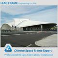 de alta calidad de acero estructura de la construcción del estadio de fútbol