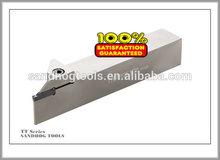 Indexable TT Grooving Tool Holders of SANDHOG CUTTING TOOLS/CNC Parting Tool Holders for TDC & TDJ carbide inserts