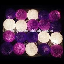 String Light Cotton Ball HNL017