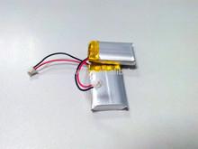 Ultra Thin 3.7v 70mah Li-polymer Battery / 3 * 12 * 30mm 70mah Li-polymer Prismatic 3.7v