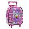 Little girls Daisy Wheeled Backpack,Kids trolley bag