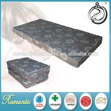 Convenient folding camping foam mattress handy pad