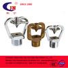 brass impact sprinkler for fire sprinkler heads
