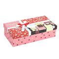 O mais novo! Fancy caixas de papelão, rosa jóias livro caixa de embalagem para a flor