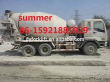seocnd hand isuzu mixer truck