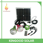12V portable mini solar powered led light with monocrystalline solar panel
