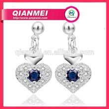Newest design Fashion 925 silver earring