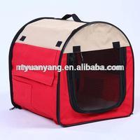 foldable soft kennel cage dog carrier bag 2015 hot sale