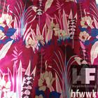 Hot sell 100% polyester burnt out velvet printed velvet fabric for home decoration