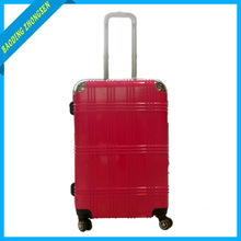 china supplier valise ormi 210D abs +pc suitcase compass abs+pc luggage