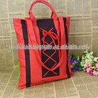 ECO-firendly shopping folding wholesale cotton nylon bag