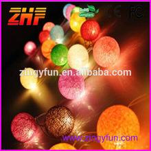 christmas String Light Cotton Ball,led christmas light gifts