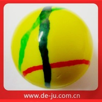 Wholesale Stripe Shaped Rubber Materials Bouncing Round Jumping Ball