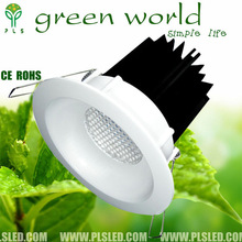 5 Watt LED Recessed downlight Light Fixture Aimable and dimmable with 5*1 watt high power leds
