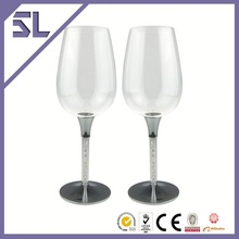 Red Glass Champagne Glasses Clear Glass Champagne Flute Light Martini Glass Wholesale