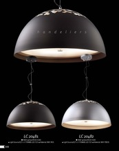 Modern Half Circle Metal Shade With Hollow Carved Pendant Lighting /Chandelier