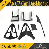 2013 New Arrival A6 C7 Car Dashboard for AUDI 9pcs/set Left Hand Driver USE