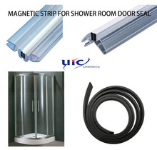 shower room door strip magnetic door sea/customized strip,shower door seal