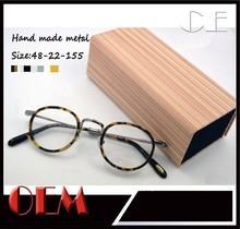 2015 New latest metal wholesale OEM italian eyewear brands