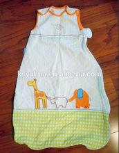 Cotton 0.5 Tog baby Sleeping Bag/ Sleep Sack Size 0 - 6 months