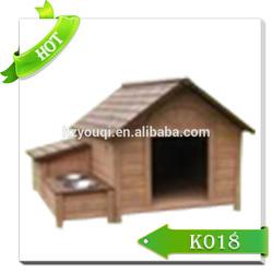 Luxury pop up dog house/soft wooden indoor dog house/pet house