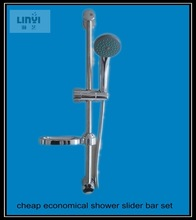 China suppliers wholesale cheap price european style slider shower bar set with hose