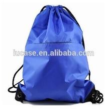 cotton canvas polyester drawstring bag, custom produce nylon drawstring bag