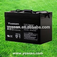 Yuasan Directly Factory Manufacturing Powerful SMF UPS AGM Battery--NP100-12(12V100AH)