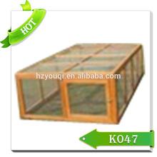 2015 New wooden rabbit cage/rabbit hutch/hot sale rabbit cages