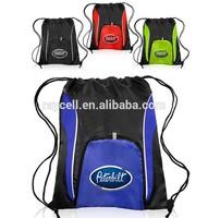Drawstring shopping backpack bag manufacturer China