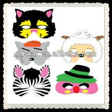 promotional EVA animal cheap shaped Party mask