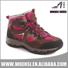 best selling low price of women high top hiking shoes for lady