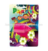 Party popper paper confetti gun
